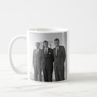Kennedy Brothers, John, Ted, Robert Mugs