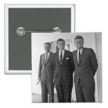 Kennedy Brothers, John, Ted, Robert Pinback Button