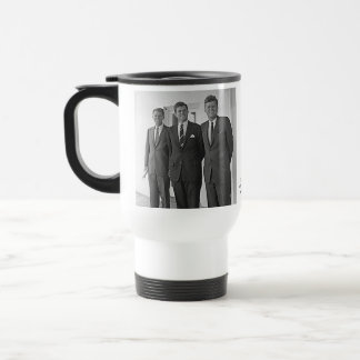 Kennedy Brothers, John, Ted, Robert Travel Mug