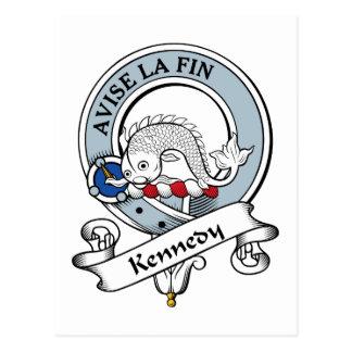 Kennedy Clan Badge Postcard