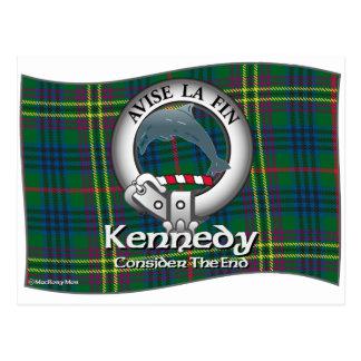 Kennedy Clan Postcard