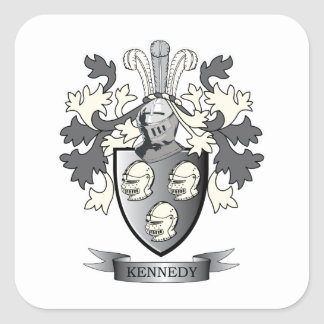 Kennedy Coat of ArmsI Square Sticker
