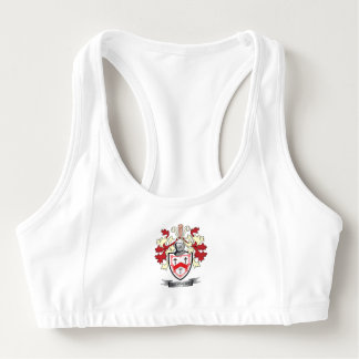 Kennedy Family Crest Coat of Arms Sports Bra