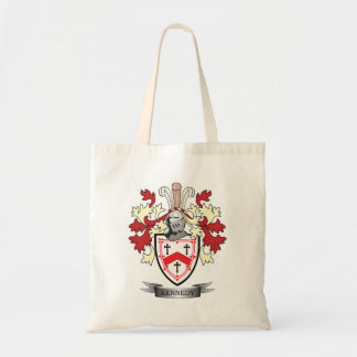 Kennedy Family Crest Coat of Arms Tote Bag