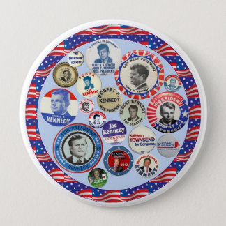 Kennedy Family Dynasty 10 Cm Round Badge
