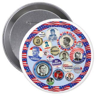 Kennedy Family Dynasty 10 Cm Round Badge