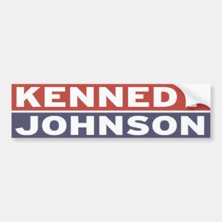 Kennedy / Johnson Bumper Sticker