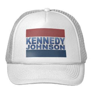 Kennedy Johnson Campaign Cap
