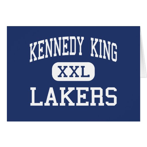 Kennedy King Lakers Middle Gary Indiana Greeting Card