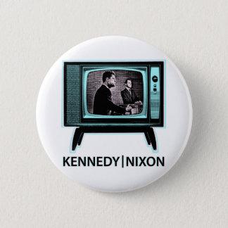 Kennedy Nixon Debate 1960 6 Cm Round Badge