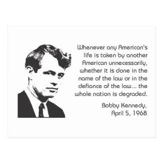 Kennedy Postcard
