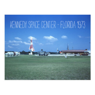 Kennedy Space Center 1973 Vintage Inspired Postcard