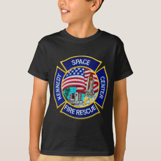 Kennedy Space Center Fire Rescue T-Shirt