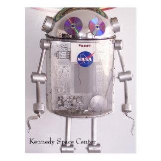 Kennedy Space Center Postcard