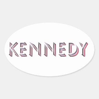 Kennedy sticker name