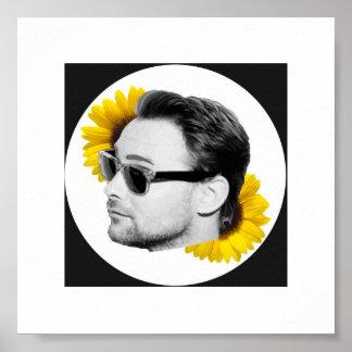 Kenneth Harris Sunflower Poster (6 x 6)