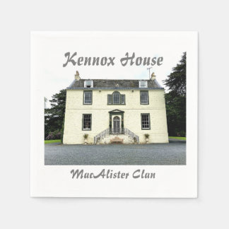 Kennox House  – MacAlister Clan Paper Napkin