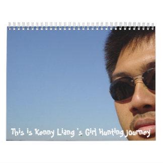 Kenny liang wall calendars