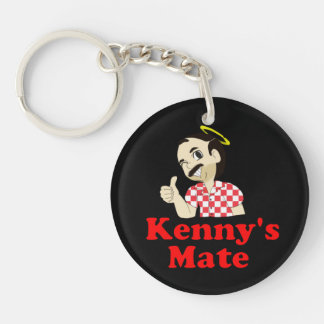 Kenny's Mate Sarcoma Research Support Keyring