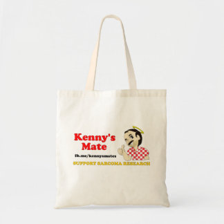 Kenny's Mate Sarcoma Research Support Tote