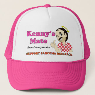 Kenny's Mate Sarcoma Research Trucker Cap