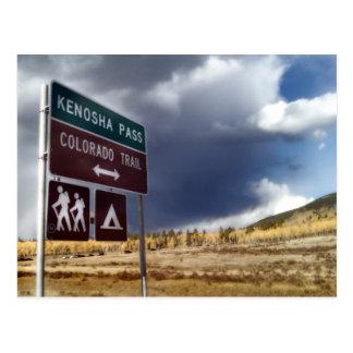 Kenosha Pass at Fall Postcard
