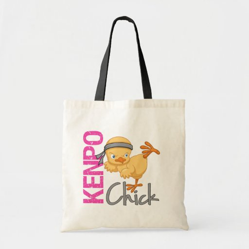 Kenpo Chick Canvas Bags