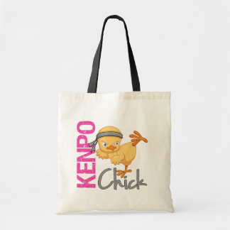 Kenpo Chick Budget Tote Bag