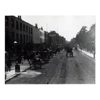 Kensington High Street, London Postcard