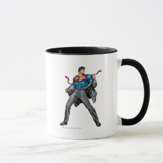 Kent changes into Superman Mug