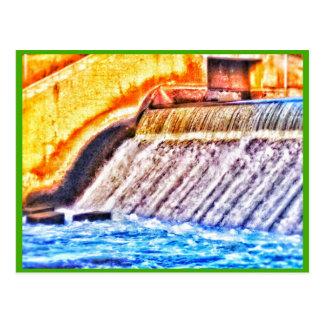 Kent Dam photo postcard