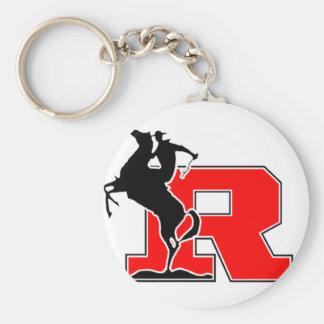 Kent  Rough Rider Basic Round Button Key Ring