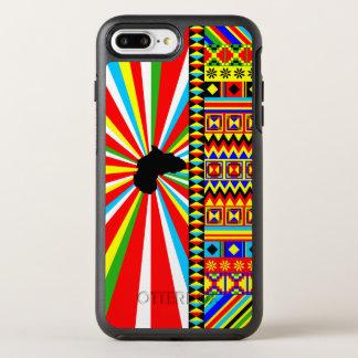 Kente Cloth Pattern African Print OtterBox Symmetry iPhone 8 Plus/7 Plus Case