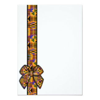 Kente invitations