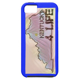 """""""Kentucky 4 Life"""" State Map Pride Design Case For The iPhone 5"""