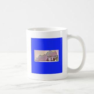 """Kentucky 4 Life"" State Map Pride Design Coffee Mug"