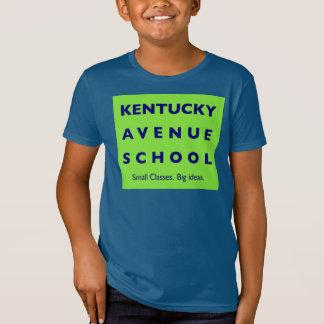 Kentucky Avenue School Kids Am. App. Organic Tee