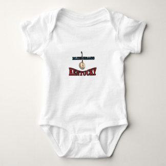 Kentucky Bluegrass art Baby Bodysuit