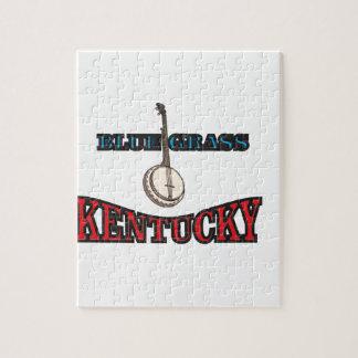 Kentucky Bluegrass art Jigsaw Puzzle