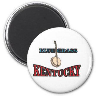 Kentucky Bluegrass art Magnet