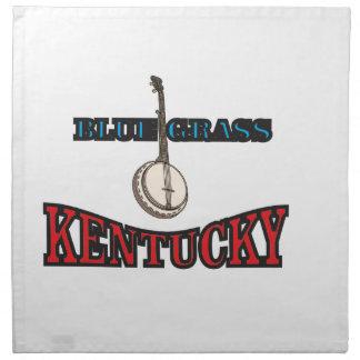 Kentucky Bluegrass art Napkin