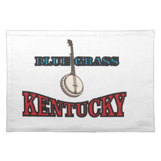 Kentucky Bluegrass art Placemat