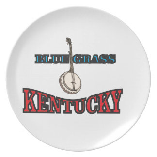 Kentucky Bluegrass art Plate