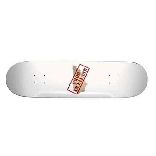 Kentucky Born - Stamp on Map Skateboard Decks