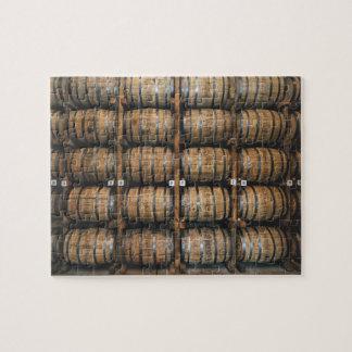 Kentucky Bourbon Barrels Jigsaw Puzzle