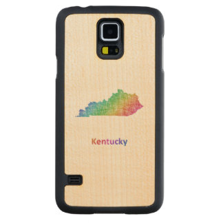 Kentucky Carved Maple Galaxy S5 Case