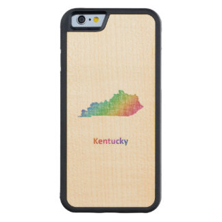 Kentucky Carved Maple iPhone 6 Bumper Case