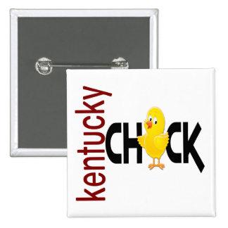 Kentucky Chick 1 Pinback Buttons