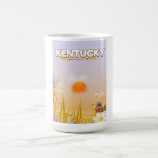 Kentucky Cute Farm travel poster Coffee Mug