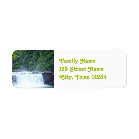 Kentucky Dam Return Address Label
